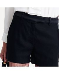 Tommy Hilfiger | Black Tailored Short | Lyst