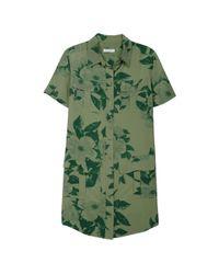 Equipment Green Remy Utility Dress