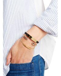 Monica Vinader   Metallic Linear 18kt Gold-plated Bracelet   Lyst