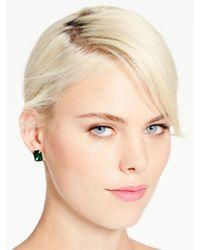 kate spade new york - Green Kate Spade Earrings Emerald Cut Studs - Lyst