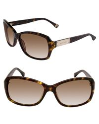 Michael Kors | Black Michael Claremont Sunglasses | Lyst