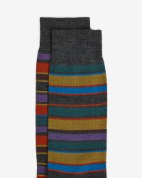 Ted Baker - Gray Socks for Men - Lyst