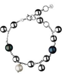 Links of London | Metallic Effervescence Sterling Silver Pearl Bracelet - For Women | Lyst