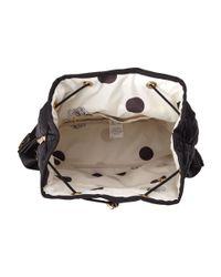 LeSportsac Black Signature Beverly Backpack