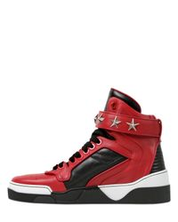 Givenchy | Black Tyson Star High-top Sneaker | Lyst