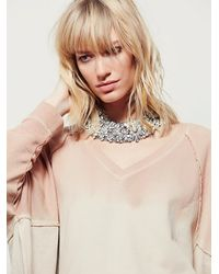 Free People | Natural Womens Mystic Pullover | Lyst