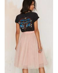 5e0358029a Nasty Gal Rare London Bradshaw Tutu Skirt in Pink - Lyst