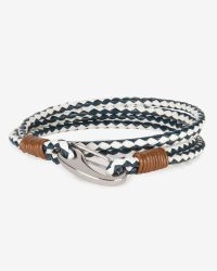 Ted Baker | Natural Woven Leather Bracelet for Men | Lyst