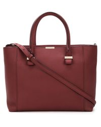 Victoria Beckham Red 'quincy' Tote