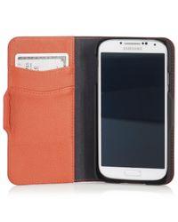 Polo Ralph Lauren | Orange Kelly Green Pebbled Leather Phone Case for Men | Lyst