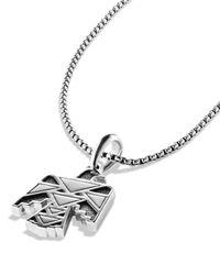 David Yurman | Metallic Frontier Thunderbird Amulet for Men | Lyst