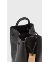 Building Block - Black Convertible Bucket Back Pack - Lyst
