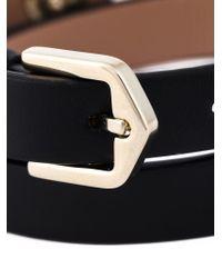 Tod's - Black Metal Pin Wrap Bracelet - Lyst
