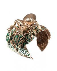 Bernard Delettrez | Metallic Giant Ant Bronze Bracelet | Lyst