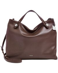 Skagen | Brown Denmark Double Handle Mikkeline Satchel | Lyst