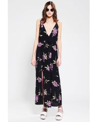 Reformation | Purple Citrine Maxi Dress | Lyst