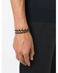Tod's - Black 'my Colours' Bracelet for Men - Lyst