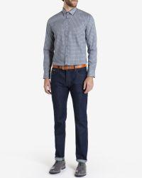Ted Baker - Blue Tile Printed Shirt for Men - Lyst