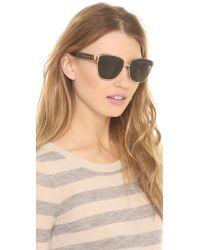 Marc Jacobs Gray Oversized Sunglasses