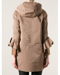 Moncler - Brown Gaugin Trench - Lyst