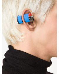 Hood By Air - Blue Lighter Earrings - Lyst
