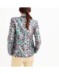 J.Crew Multicolor Collection Sequin Blazer