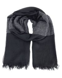 Ann Demeulemeester Blanche - Black Striped Scarf - Lyst