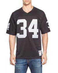 Mitchell & Ness | Black 'bo Jackson' Replica Jersey for Men | Lyst