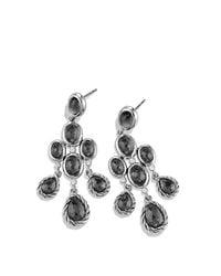 David Yurman - Metallic Color Classic Chandelier Earrings With Diamonds - Lyst