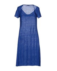 Drumohr Blue Knee-length Dress