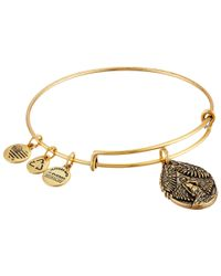 ALEX AND ANI | Metallic Guardian Of Peace Charm Bangle | Lyst