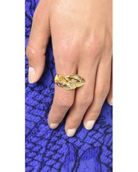 Aurelie Bidermann - Metallic Talitha Ring - Lyst