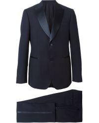 Z Zegna - Blue Tuxedo Suit for Men - Lyst