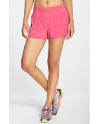 Asics | Red 'cleo Pop' Shorts | Lyst