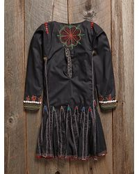 Free People - Multicolor Vintage Beaded Dress - Lyst