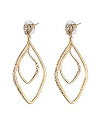 Alexis Bittar | Metallic Hyperion Gold Pave Post Earring You Might Also Like | Lyst