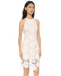 Keepsake White True Love Dress - Black