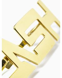 "KTZ | Metallic ""clash"" Ring for Men 
