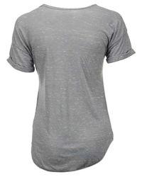 Blue 84 - Gray Women's Unlv Runnin' Rebels Confetti Rolled T-shirt - Lyst
