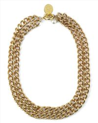 Jaeger | Metallic Pearl And Coin Chain Necklace | Lyst