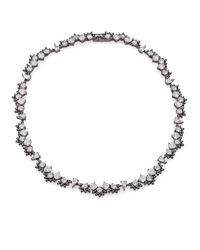 Adriana Orsini | Metallic Kaleidoscope All-around Necklace/gunmetal-tone | Lyst