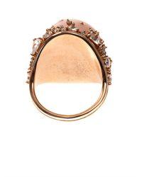 Fernando Jorge Pink Diamond Topaz Opal Rosegold Ring