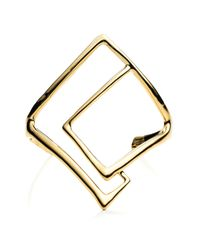 Alexis Bittar | Metallic Kinetic Gold Geometric Cuff You Might Also Like | Lyst