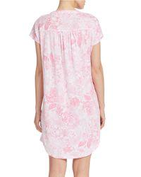 Lauren by Ralph Lauren | Pink Plus Nadini Sleep Tee | Lyst