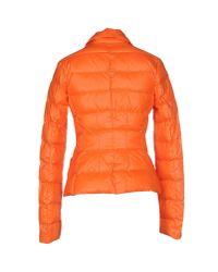 313 Tre Uno Tre Orange Down Jacket
