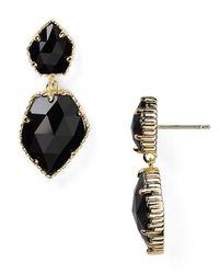Kendra Scott Black Quincy Earrings