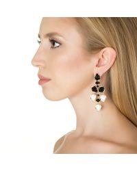 Kendra Scott | Pacey Earrings, Black | Lyst