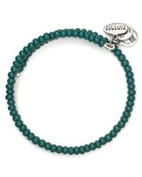 ALEX AND ANI - Green Vintage 66 Canopy Wrap Bangle - Lyst