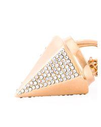 Vita Fede Metallic Mini 'thea Crystal' Necklace