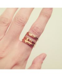 Pamela Love   Metallic Skylight Ring   Lyst